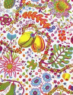 Josef Frank got the inspiration for this print from The Green Book of Birds by Frank G. The print was designed in 1943 - - Textile Gröna Fåglar, Linen Gröna Fåglar, Josef Frank Josef Frank, Textiles, Textile Patterns, Print Patterns, Fashion Patterns, Graphic Patterns, New Wallpaper, Fabric Wallpaper, Surface Design