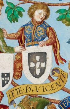 D. Vicente, Infante de Portugal Genealogia dos Reis de Portugal