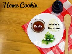 Keep your dog occupied while you cook or eat your Thanksgiving feast with this recipe from @KONG Company. Substitute gravy for some broth and green beans for broccoli to use more ingredients from your meal!