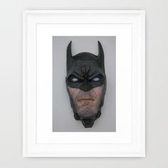 Hero of the Night Framed Art Print Can Design, Framed Art Prints, Sculptures, Batman, Creatures, Superhero, Night, Fictional Characters, Sculpting