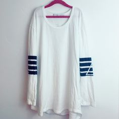 stillwater longsleeve rugby bohome stripe ❁ brand // Stillwater (under Wildfox for views) condition // worn once briefly, minor piling from a wash on cold, new condition   made of // 100% cotton details // so so cute, great pullover or for layering, sleeves come a little above the wrist, so soft and comfortable   note: ❁ this price is firm unless bundled  ❁ I do not trade, selling only! ❁ ⚠️next shipment date: Saturday, March 12th Wildfox Sweaters