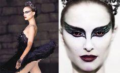 Black Swan Makeup - Halloween