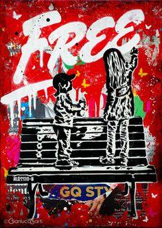 Artist: Alessio-b. Street art