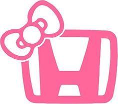 "JDM Honda Girl Vinyl Decal Sticker Car Window Bumper- 6"" Wide Pink Color, http://www.amazon.com/dp/B00LBS1CHK/ref=cm_sw_r_pi_awdm_91t-tb1SERT85"