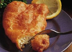 Beer-Battered Seafood....I used this for fish and chicken strips...so light and crispy. Awesome recipe!! A must try :)