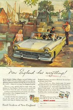 New England has everything!, 1956