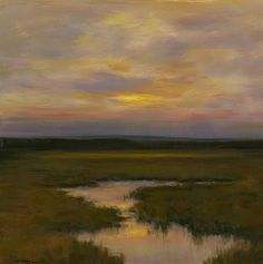 Peaceful Evening - Dennis Sheehan (b. 1950)