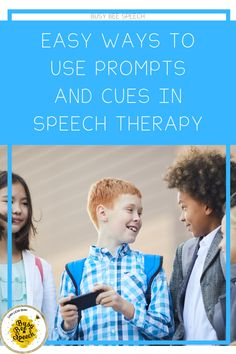 The easiest way to use prompt and cues in speech therapy!