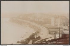 The Marine Front, Gyllyngdune, Falmouth, Cornwall, c.1905-10 - RP Postcard