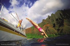 Kauai water adventures. Photo by Dana Edmunds #boating #Kauai #Hawaii