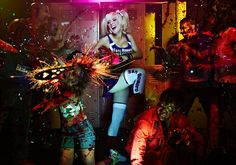 Videogame: Lollipop Chainsaw. Character: Juliet Starling. Cosplayer: Jesica Nigri. From. Arizona, US. Events: IGN Conquest - Lollipop Chainsaw: The Search For Juliette Starling (Winner) 2012. Photo: Jeremy Danger.