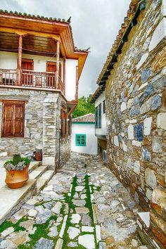 Old Doğanbey village 'Söke', Aydin/Turkey. The Places Youll Go, Places To See, Beautiful World, Beautiful Places, Republic Of Turkey, Turkey Travel, Stone Houses, Istanbul Turkey, Antalya