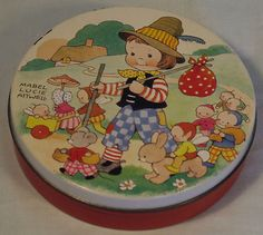 Vintage Unbranded Mabel Lucy Attwell Style Child Elves Pixies Fairys Rabbit | eBay