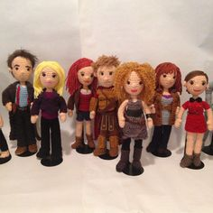 SUPPLEMENT set Patterns 11 Companions and Villains Doctors Who Time Travel Crochet Amigurumi