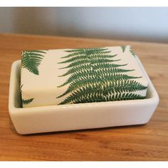 Porcelain Ceramic Soap Dish: Sting in the Tail's Porcelain Ceramic Soap Dish is beautifully simple and clean in design.  'Sting in the Tail' is engraved onto the bottom of the soap dish.  Fits all soaps 250g or smaller.