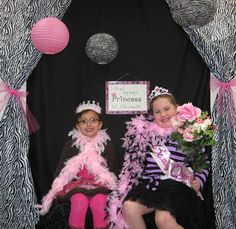 Princess Photo Booth - the CURTAINS!