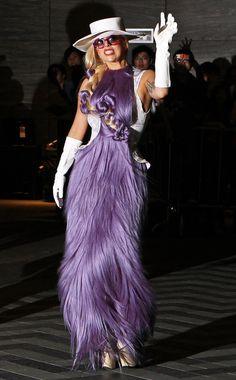 OH, hey!    Lady Gaga in Hong Kong on April 28, 2012.