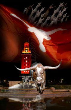 UT Austin - Victory by Artist Photographer Randy Smith