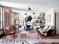 Bohemien in Paris - Home Shabby Home | Arredamento, interior, craft