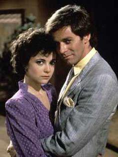 Emma Samms (Holly Sutton Scorpio) & Tristan Rogers (Robert Scorpio)  -  ABC's General Hospital