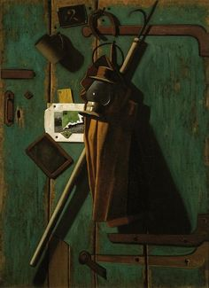 John Peto, (1854-1907), American.  Fish House Door, 1905, Dallas Museum of Art.
