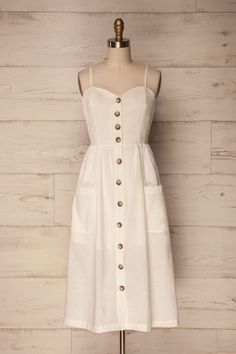 Cute dresses - pretty dresses for all ages Simple Dresses, Pretty Dresses, Summer Dresses, Cheap Dresses, Maxi Dresses, White Dress Summer, White Midi Dress, Casual Dress Outfits, Modest Outfits