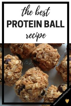 to make the best protein balls The best protein ball recipe is this one! It's easy, healthy, and makes a great snack option.The best protein ball recipe is this one! It's easy, healthy, and makes a great snack option. Healthy Protein Snacks, Protein Bites, Best Protein, Healthy Recipes, Protein Recipes, Healthy Sweets, Healthy Energy Bites, Oatmeal Energy Bites, Healthy Food