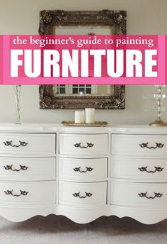 the beginner's guide to painting furniture