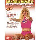 Seniors Exercise DVD: Senior / Elderly Sitting Exercises DVD, Easy Sitting PILATES Strength, Rehab & Physical Therapy. Seniors Elderly Exercises DVD. This Sitting Seniors Fitness DVD is Good also for Easy Osteoporosis Exercises, Diabetes Exercises, Arthritis Exercises, Alzheimer's Exercises DVD. (DVD)By Sunshine