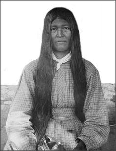 Walini, Cherokee woman. 1888.
