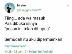 Quotes Rindu, Quotes Lucu, Quotes From Novels, Tumblr Quotes, Text Quotes, Mood Quotes, Funny Quotes, Life Quotes, Wattpad Quotes