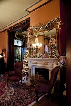 Historic Vaile Mansion at Christmas in Independence   Flickr - Photo Sharing!