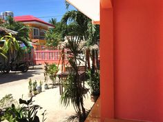 Our studio rooms in Bantayan Island with private bathroom and air-condition - perfect for couples and solo travelers. Bantayan Island, Studio Room, Travel Tours, Queen Size Bedding, Santa Fe, Entrance, Studios, Beach, Outdoor Decor
