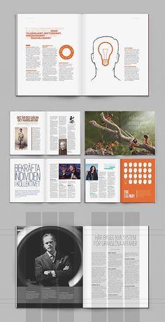 Editorial Design Inspiration: WE Magazine. Love it! #magazine #editorial #design…