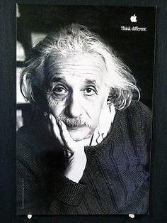 """""""Think Different"""" Albert Einstein"""