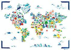 Fine Little World- how whimsical!!