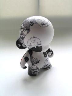 No.2 - Custom Mini Munny by David Bishop - I love his earlier pieces