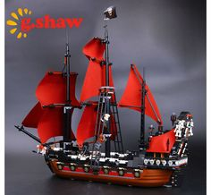 >> Click to Buy << g.shaw bricks toy DIY Building Blocks Compatible with Lego Pirates of the Caribbean 4195: Queen Anne's Revenge #Affiliate