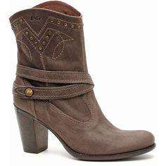 Nero Giardini, catalogo scarpe Autunno Inverno 2013-14 - Stivaletti cowboy Nero Giardini con borchie