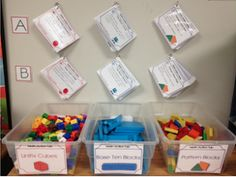 Math Action Cards for Manipulatives
