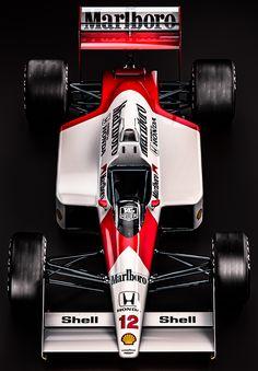 Mclaren Honda MP44 - Ayrton Senna