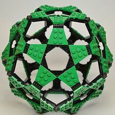 Dodecahedron with Star Faces (Dead Homer) Tags: ball lego sphere math dodecahedron polyhedron