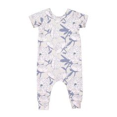 Our jersey rompers are digitally printed using water based soluble dyes that don't fade with washing. They are soft and comfy while still being fashion forward Peony, Fashion Forward, Rompers, Comfy, Baby, Clothes, Dresses, In Trend, Outfits