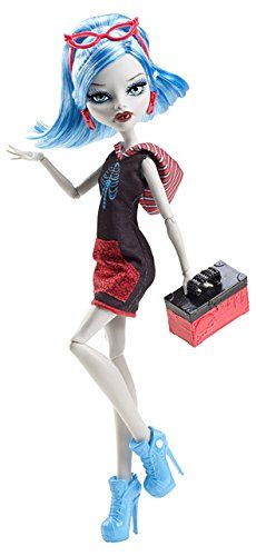 Monster High Y0394 - Muñeca Scari Ghoulia Yelps