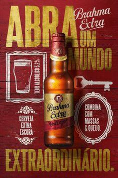Cerveja Brahma Extra Red Large