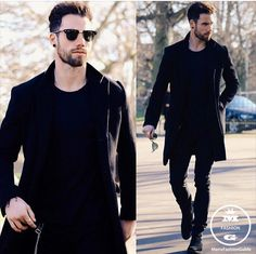 Follow @locamenstyle  All black everything with @chezrust  #mensfashion_guide #mensguide