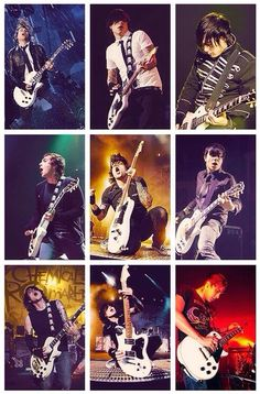 Guitar faces of Fronk