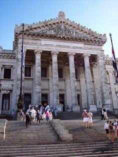 Parliament Building, Montevideo, Uruguay