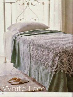 White Lace Image Pin 1 of 3  Tina's handicraft : κουβέρτες