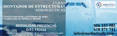 Curso de Montaje de Estructuras Aeronáuticas. https://mediaticafc.com/curso-de-montaje-de-estructuras-aeronauticas/